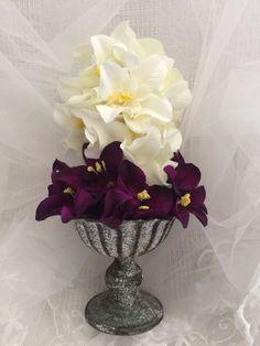 ELIXITA Centerpiece Wedding Decoration Center Flowers Silk Valentines ORCHIDS #ELIXITA