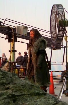 Richard Armitage as Thorin Oakenshield: Behind the scenes