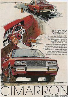 1982 Cimarron by Cadillac