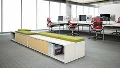 Dividends Horizon® Credenza and Antenna® Workspaces