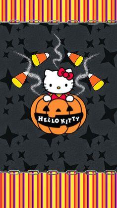 dazzlemydroid.blogspot - Hello Kitty Halloween Wallpaper