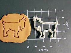 Goat Cookie Cutter Made to order B0109 by CookieParlor on Etsy