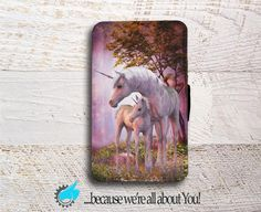 Sony Xperia Wallet Phone Case Unicorn phone by YouCustomized