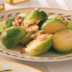 Brussels Sprouts with Pancetta Recipe from Taste of Home