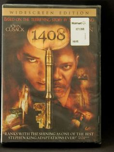 Add this to a movie night gift box! 1408 DVD Stephen King Horror Movie John Cusack Samuel L Jackson New Sealed Scary