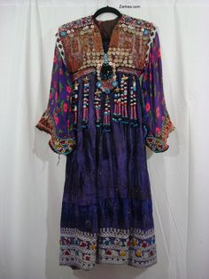 Nahal Vintage Kuchi Dress  ~ http://www.zarinas.com/imagesx2/nahal_dress2.jpg