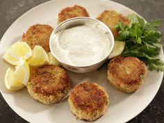 Get Fish & Lobster Cakes Recipe from Food Network.... red bell pepper, cod