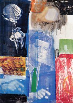 Robert Rauschenberg, Retroactive 1, 1964