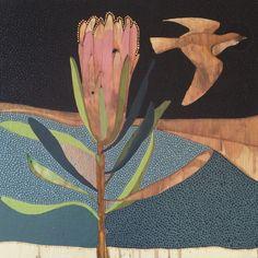 Yesterday I Had a Dream I Could Fly artist: dana kinter Love Illustration, Painting Photos, Animal Art, Flower Art, Fabric Painting, Protea Art, Art, Bird Drawings, Art File