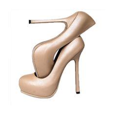 YSL Nude ❤ liked on Polyvore featuring shoes, pumps, heels, zapatos, sapatos, nude pumps, nude shoes, yves saint laurent, nude heel pumps and heel pump