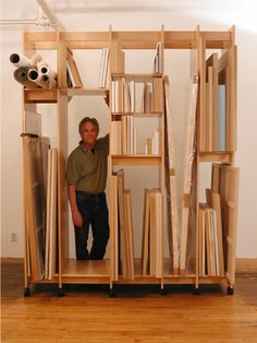 Art Storage System for storing art; paintings, drawings, prints, sculpture, and more.