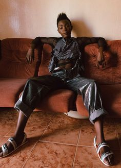 Janet Otobo Gender bending couture in South Africa