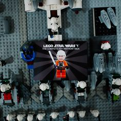 Star Wars LEGO birthday party ideas from Pure Joy Events  featured on AmysPartyIdeas.com