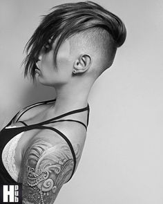 Elegant shoulder tattoo