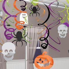 Halloween Hanging Swirls Decoration