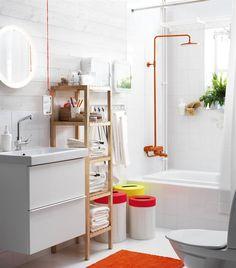 Le nouveau catalogue #IKEA regorge d'idées pour vous aider à créer un espace rien que pour vous, tel que vous le voulez : http://www.ikeafamilylivemagazine.com/fr/fr/article/39194 #SALLEDEBAIN #DECO #DESIGN #AMENAGEMENT #RANGEMENT