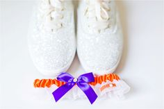 Clemson garter and wedding details - Georgetown wedding | Lindsay Fauver Photography