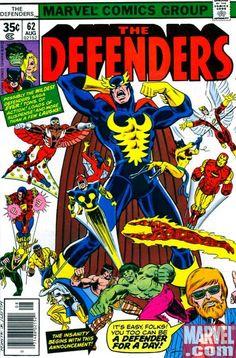defenders marvel   Defenders #63 courtesy Marvel.com