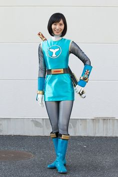 003l Power Rangers Cosplay, Power Rangers Ninja Storm, Cute Japanese, Japanese Girl, Cosplay Outfits, Cosplay Girls, Go Busters, Pawer Rangers, Future Clothes