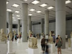 Gallery of New Acropolis Museum / Bernard Tschumi Architects - 14