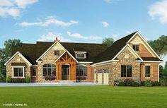 House Plan The Henningridge by Donald A. Gardner Architects