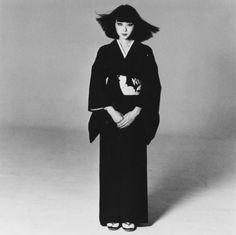 山口小夜子 Sayoko Yamaguchi. Japan