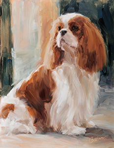 """Total Devotion"" - by Lindsey Bittner Graham  ~ Cavalier in Art"