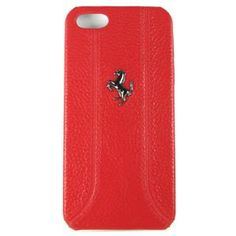 #Ferrari FF Leather Hard Shell Case for #iPhone 5 - Red $30.99 From #DayDeal