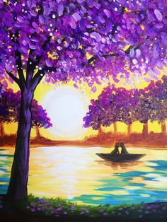 I am going to paint Canoe Kiss at Pinot's Palette - Allen to discover my inner artist!
