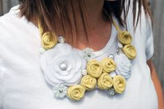 Just Another Day in Paradise: Bib Necklace How-to Part 2&3