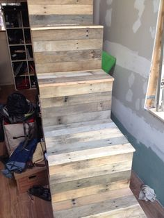 Our Closet Stairs. Made From 3/4 Inch Cabinet Grade Plywood. | East Coast  Tiny House | Pinterest | East Coast, Plywood And Tiny Houses
