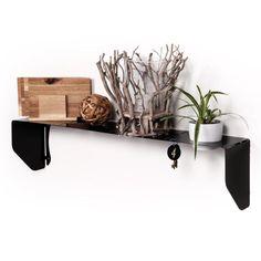 U Bend-it shelf from Fantastick Wall Décor (South Africa) Wine Stand, Vinyl Wall Art, Kitchen Items, Decorative Items, Night Light, South Africa, Wall Decor, Diy Projects, Shelves
