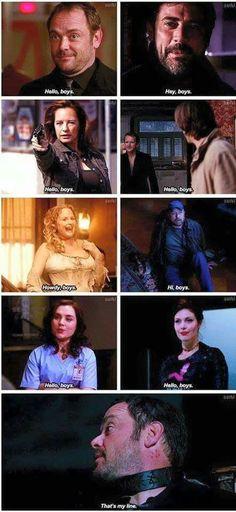 We need Crowley back!! Xxx