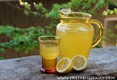 Honey (OJ) Lemonade