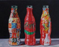 Andy Warhol Coke Bottle Painting | coca cola nov marilyn monroe andyandy warhol andy warhols coca