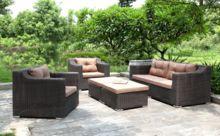 America New Design Leisure Garden Sofa Set Wicker Rattan Furniture