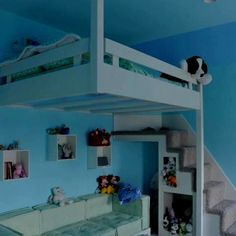 73 Best Loft Beds Images On Pinterest Suspended Bed Bunk Beds And
