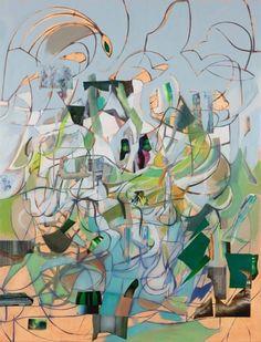 Elliott Hundley, Exhibition, Painting - Regen Projects, Los Angeles, United-States
