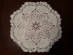 Love this doily. Very good video tutorial to follow along.