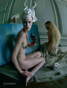 Tim Walker pays tribute to Hieronymus Bosch with a fashion story for Love Magazine Spring 2016 [fashion]