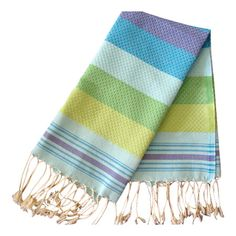 Found it at Wayfair - Fouta Honeycomb Guest Towel in Turquoise