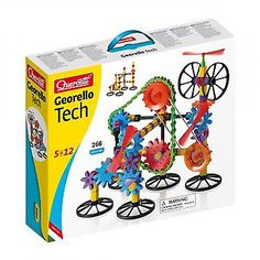 Quercetti Georello Techno 3 dimensional kenitic structure buildiing set for young makers, engineers, and builders. Steam Toys, Robotics Engineering, First Principle, Building Toys, Techno, Gears, Airmail, Current Events, Australia