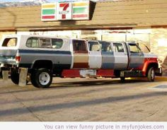 Redneck limo funny images - http://www.myfunjokes.com/other-funny/redneck-limo-funny-images/ #funny  #jokes  #funnypictures  #animal  #pet  #haha  #cute
