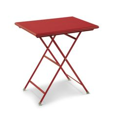 Emu Arc En Ciel Bord 70x50, Röd   TheHome.se Emu, Stool, Table, Furniture, Design, Orange, Home Decor, Stools, Interior Design