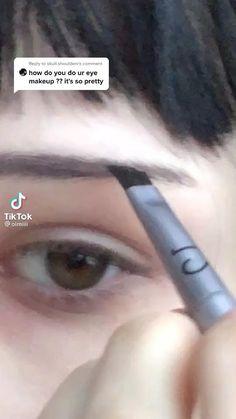 Makeup Eye Looks, Eye Makeup Art, Pretty Makeup, Makeup Inspo, Eyeshadow Makeup, Makeup Inspiration, Punk Makeup, Grunge Makeup, Gothic Makeup