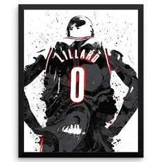 Lillard is an American professional basketball player for the Portland Trail Blazers of the National Basketball Association (NBA). Lillard is a point guard from Oakland, Califor Girls Basketball Shoes, Basketball Is Life, Basketball Season, Basketball Players, Basketball Hoop, Basketball Scoreboard, Basketball Skills, Basketball Birthday, Basketball Legends