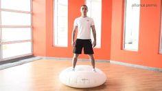 Gaël MOISAN, coach sportif à la thalasso de Pornic vous présente un exercice pour abdominaux avec le Waff MEDIUM