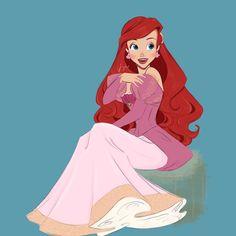 The Little Mermaid, Ariel, Disney Characters, Fictional Characters, Aurora Sleeping Beauty, Warm, Disney Princess, Drawings, Disney Stuff