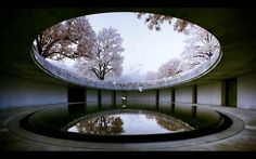 The Oval/hotel part/Naoshima Contemporary Art Museum by Tadao Ando