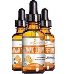 Vitamin C Serum for Face with Hyaluronic Acid - 20% C + E - Professional Topical Facial Skin Care Solution - Best for Repairing Sun Damage, Fade Age Spots, Dark Circles Under Eyes, Acne, Wrinkles and Fine Lines - 1 OZ Island Vibrance http://www.amazon.com/dp/B00UTYJLES/ref=cm_sw_r_pi_dp_JRu0wb00WNTM3